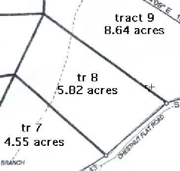 Survey of Kentucky Land for Sale - Tract 8 at Chestnut Way - Owner Financed Rural Kentucky Land