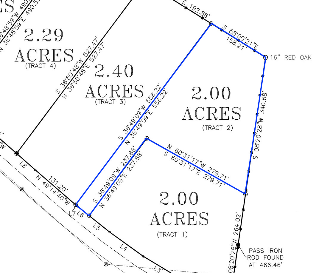 CWD-TR2 Owner Financed Land Survey