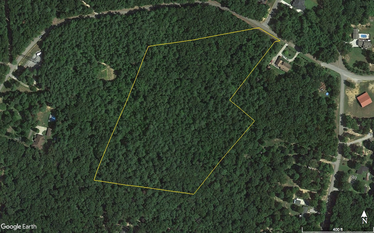 12 Acres Keel Mt Perimeter Overlay