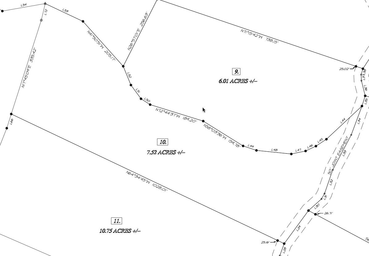 Survey of Apple Velley Tract 10 Land