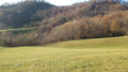 5.15 Acres of Pasture on a Hillside, Small Wooded Area, Great View!
